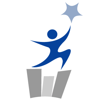 icon person reaching for star