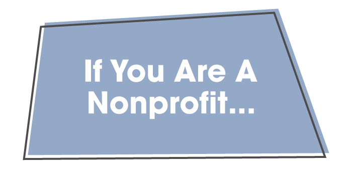 If You Are A Nonprofit